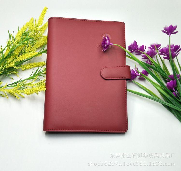 定制中高端PU笔记本 8.5英寸万用生手册商务记事本公司年会签字本