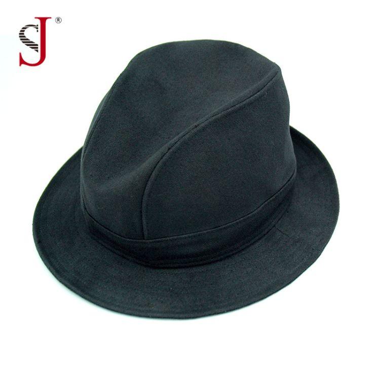 专业定制男女士 上海滩许文强大沿礼帽  杰克逊街舞表演爵士帽