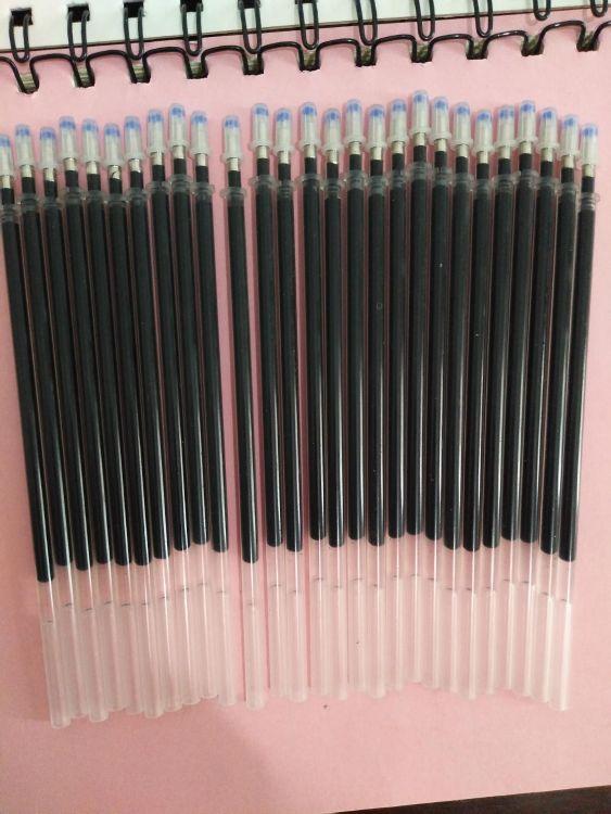 厂家批发各种中性笔笔芯商务笔笔芯.广告笔.签字笔.水笔笔芯0.5mm