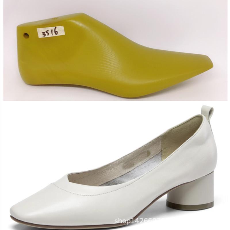 定制鞋楦男女鞋楦头制鞋用塑料鞋模子皮鞋定型器开发鞋样楦母3516
