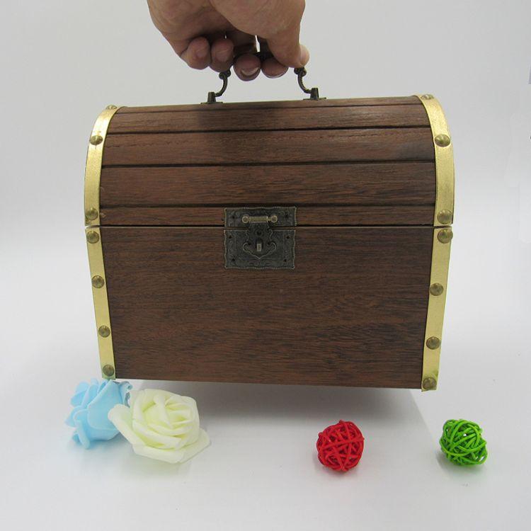 创意新品桐木烧色木质茶叶桶包装盒 木制复古大号茶叶包装木箱