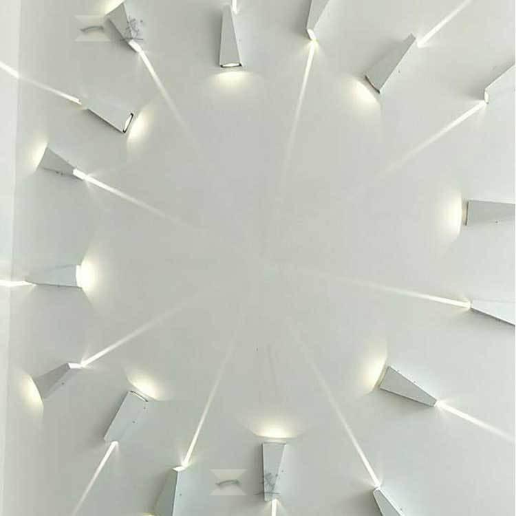 防水LED户外壁灯 现代简约创意背景墙壁过道走廊花园大门庭院灯具