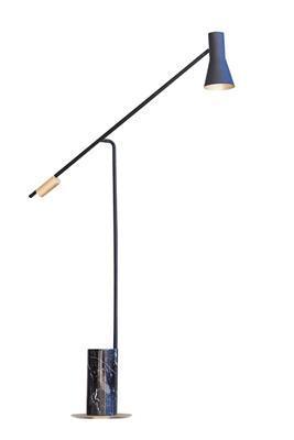 后现代创意大理石客厅落地灯艺术床头卧室设计师样板房精装落地灯
