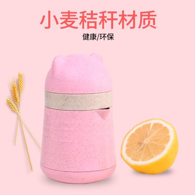 厂家直销橙汁榨汁机 手动简易迷你榨汁杯家用水果小型炸果汁西瓜