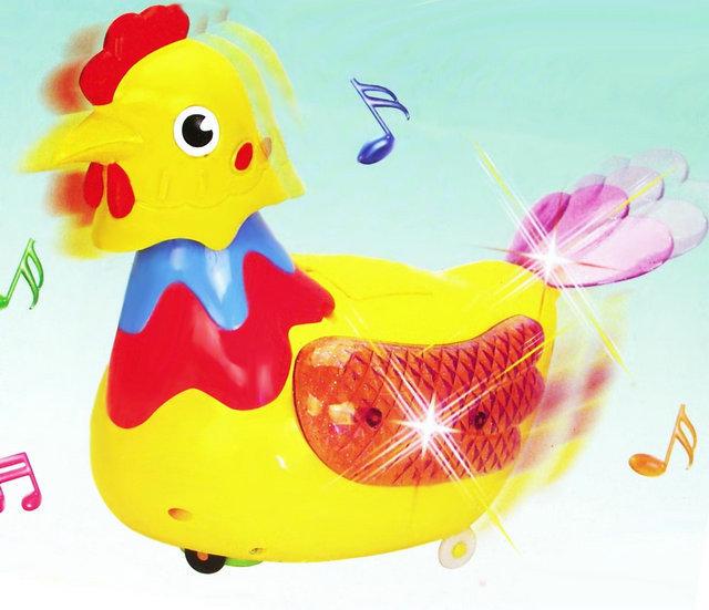 仿真下蛋鸡 电动音乐万向轮下蛋母鸡 儿童电动玩具 母鸡生蛋批发