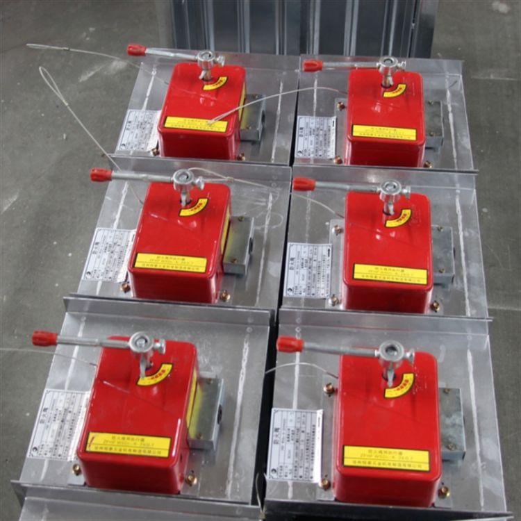 尚跃空调厂家直销 70度镀锌板防火阀  70℃常开式防火阀
