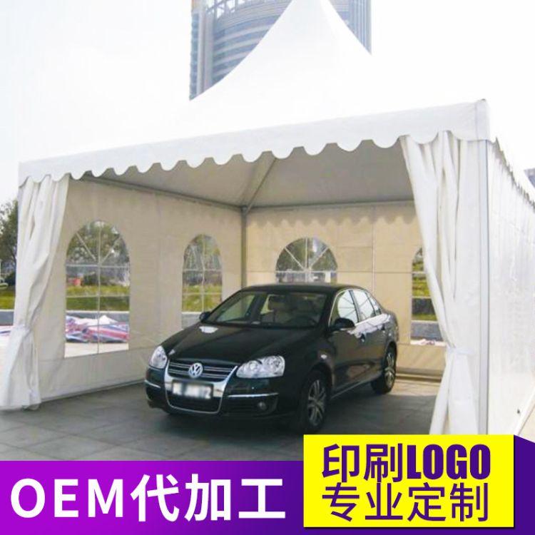 厂家直销欧式尖顶篷 美食街吊顶篷房 婚礼帐篷 白色户外休闲蓬