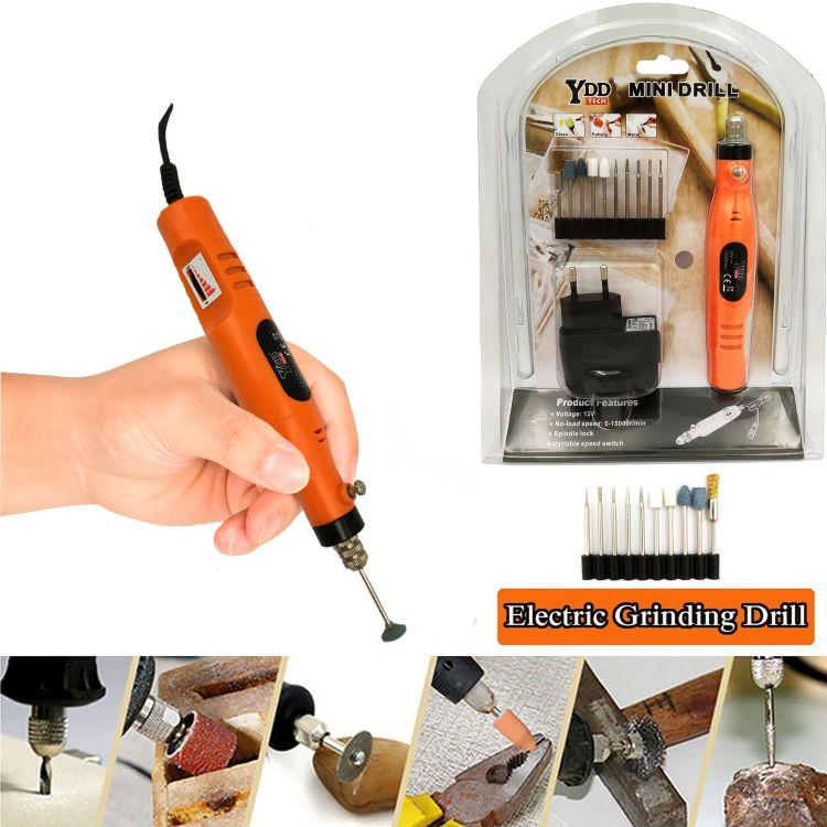 电动工具 插电式 小电磨机 微型迷你小电磨笔 抛光机 打磨雕刻机