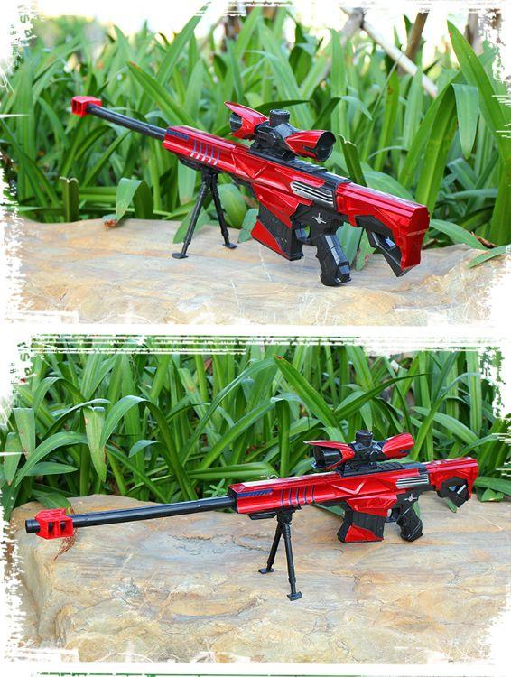 麒铭乐巴雷特电动连发水弹枪成人狙击水弹抢可发射子弹儿童玩具枪
