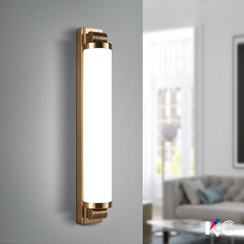 现代简约led壁灯客厅卧室电视背景墙灯北欧创意酒店长条日式壁灯