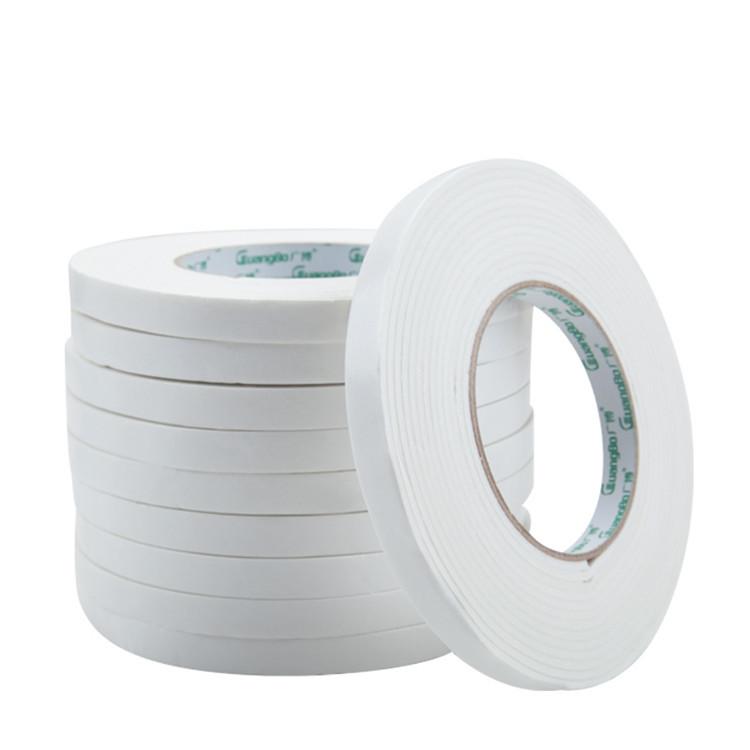 广博 办公用品双面胶 超强力海绵胶带 泡沫双面胶带