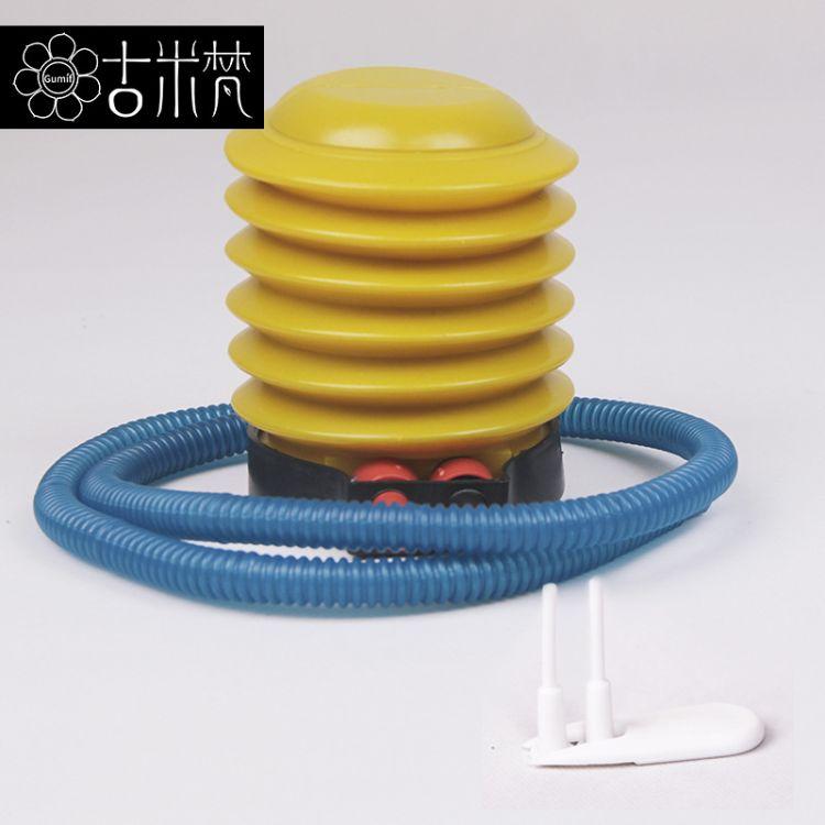 脚踩瑜伽球打气筒脚踏充气泵充气游泳圈玩具专用气床气球脚打气筒