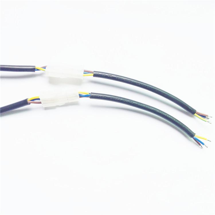 灯具连接线 3P公母插 557端子3位 VDE认证