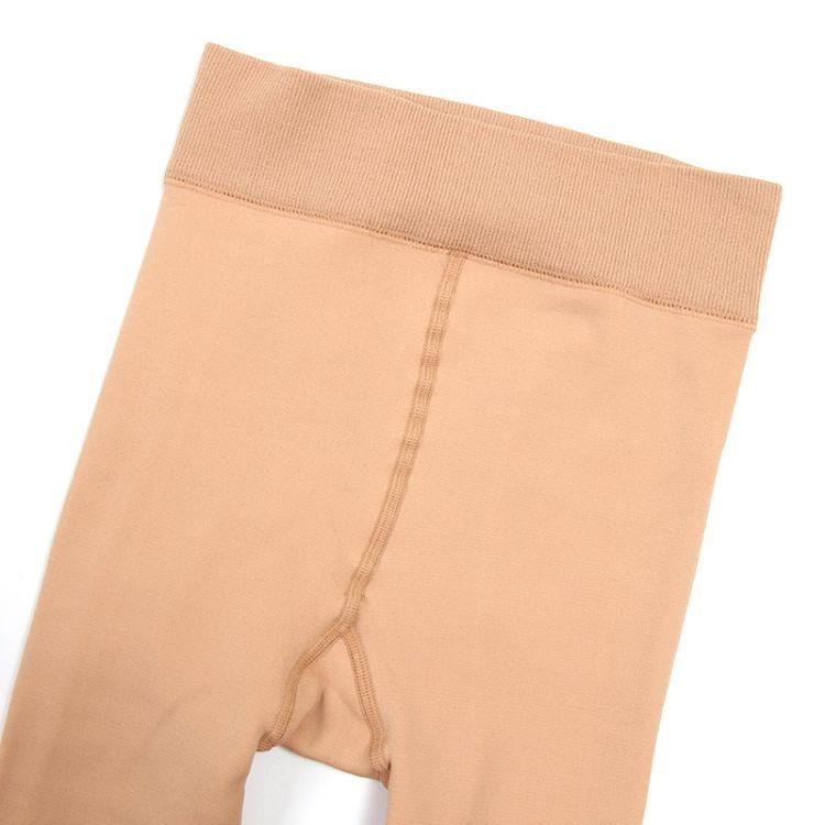 打底裤 光腿神器纺锦纶打底裤冬天保暖神器仿锦纶一体裤