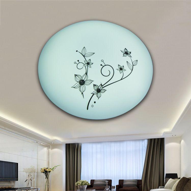 灯饰配件批发led室内灯具复古灯罩 简约法式优雅吸顶灯灯罩617