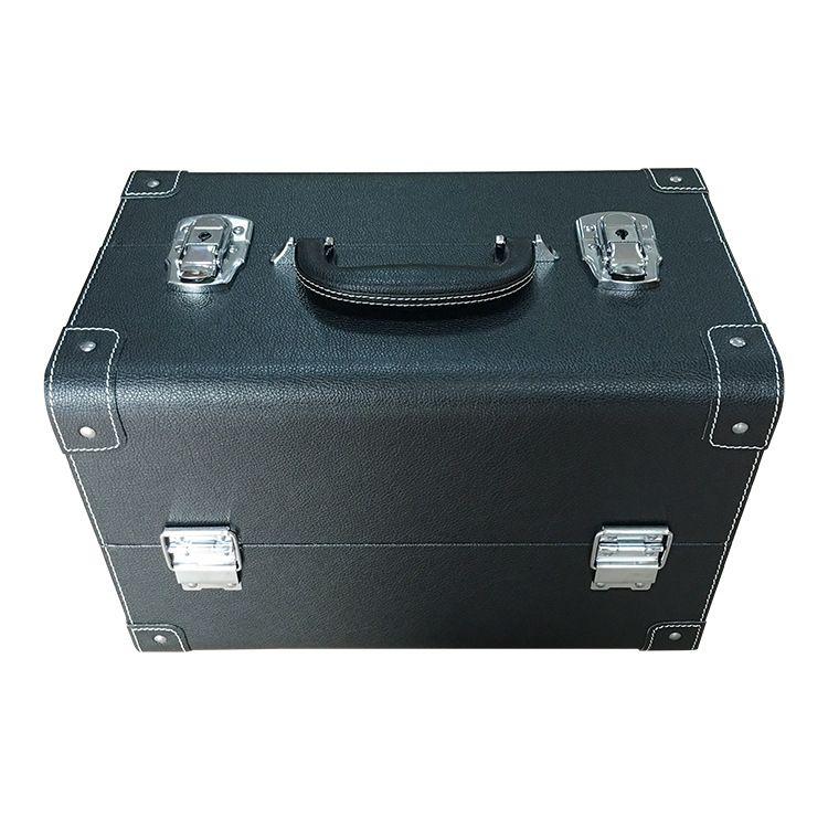 优质大容量手提便携式箱 新款韩版高品质多层化妆箱 厂家直销