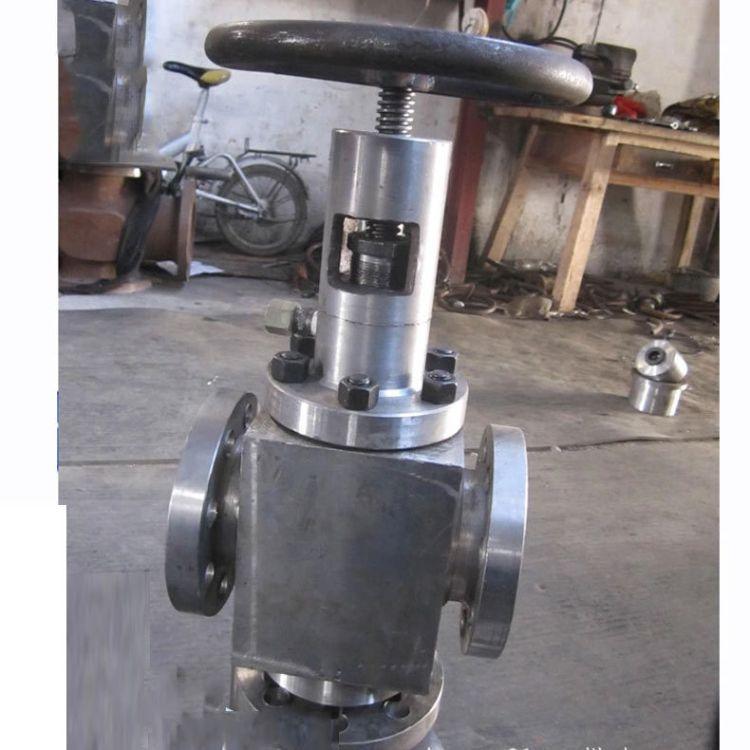 厂家批发锻件阀套式排污阀DTP41YF法兰排污阀锻件排污阀