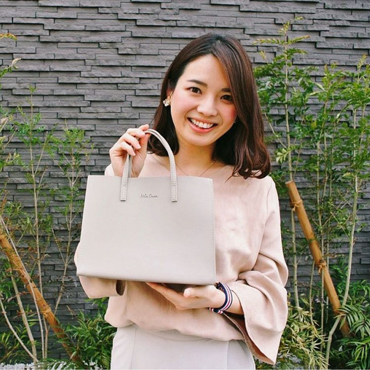 日本杂志款 简约灰色系饭盒袋气质时尚小拎包便当包手提袋 B4375