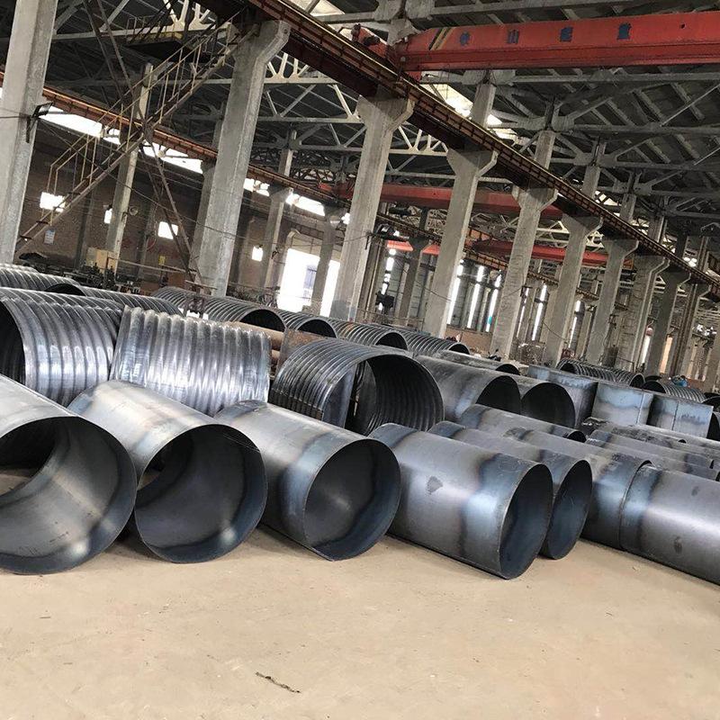 桂林市厂家直销桥梁金属预应力波纹管涵 隧道钢波纹管涵 质优价廉
