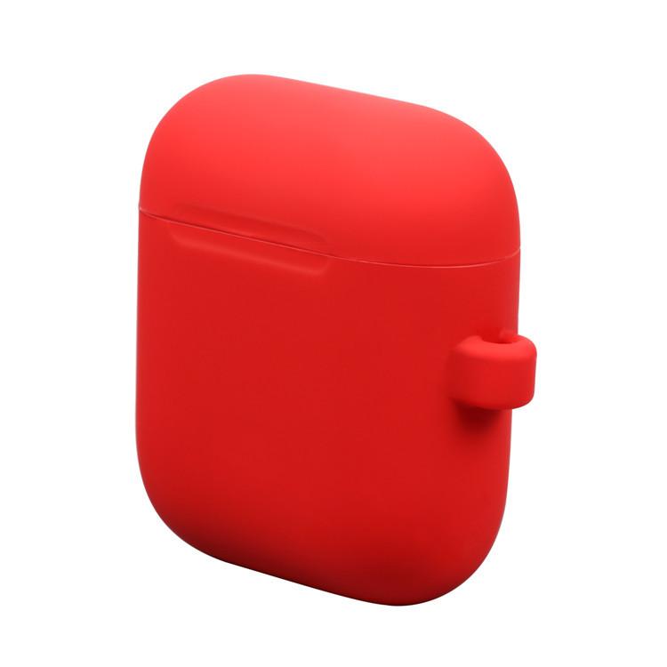 厂家定制适用AirPods保护套苹果无线蓝牙耳机充电盒硅胶磁吸防丢