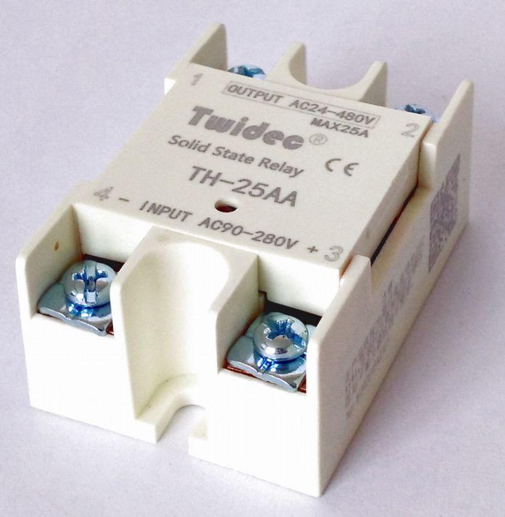 TWIDEC合泉DBC基板型单相固态继电器TH系列--TH-25AA,25A单相SSR