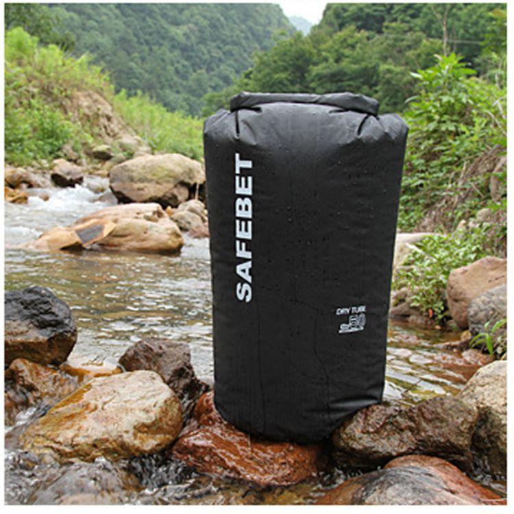 SAFEBET 户外游泳防水桶 跟屁虫衣物防偷袋 大容量50升漂流袋