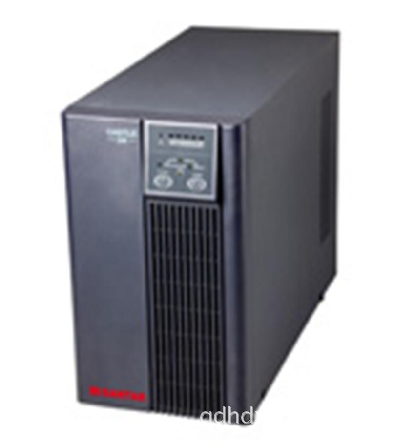 山特ups c6ks供电半小时外接16只12V17AH蓄电池6000va UPS电源