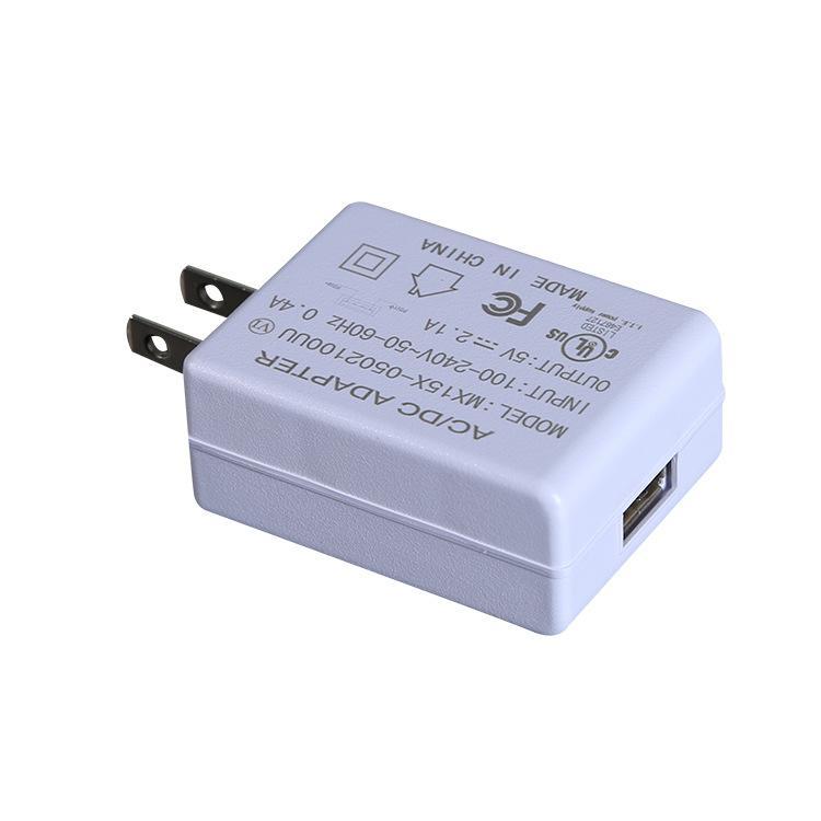 5V2A平板电脑充电器 欧规 美规 通过UL/FCC /CE/GS/6级能效认证 明鑫电源