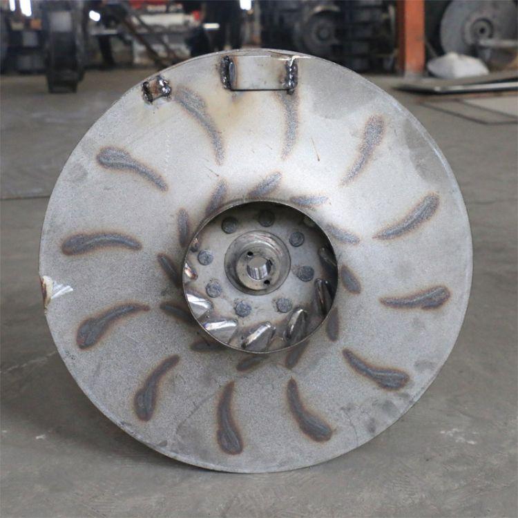 厂家直销离心风机叶轮支持定制碳钢不锈钢锰钢离心轴流风机叶轮