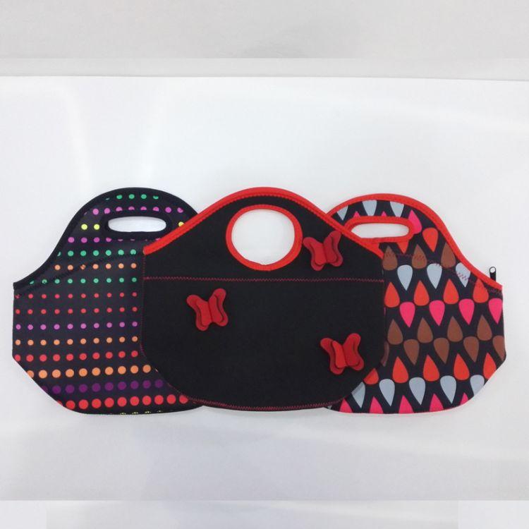 厂家直销野餐包潜水料午餐包儿童便当袋手提便当袋儿童餐包