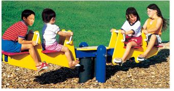 厂家供应儿童跷跷板  儿童摇马 幼儿园设备 健身器材WB-16112