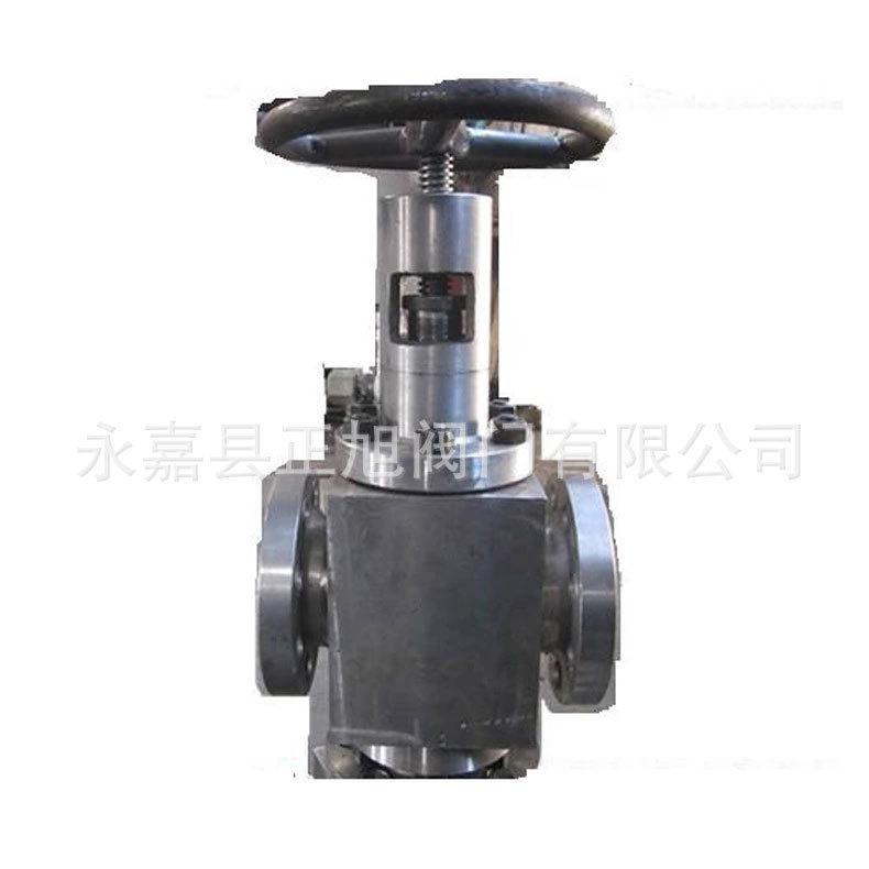 厂家直销TP41YF锻件阀套式排污阀 法兰套式排污专用截止阀