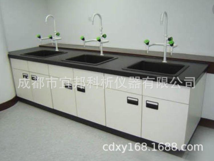 实验室洗涤台 全钢结构 实验室家具 实验室器皿柜 仪器柜 洗水槽