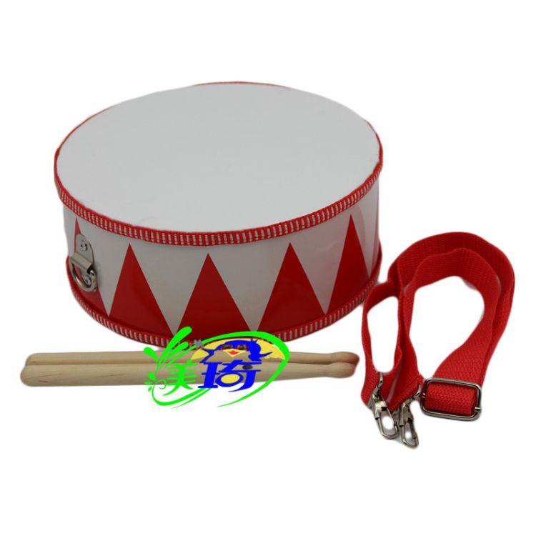 超级结实奥尔夫打击乐器敲鼓 幼儿园早教玩具手拍小鼓 宝宝小战鼓