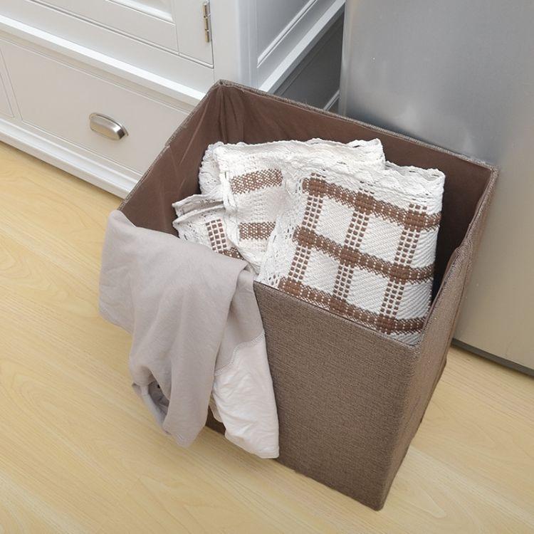厂家直销布艺脏衣篓脏衣篮折叠玩具衣物脏衣服收纳筐收纳桶洗衣篮