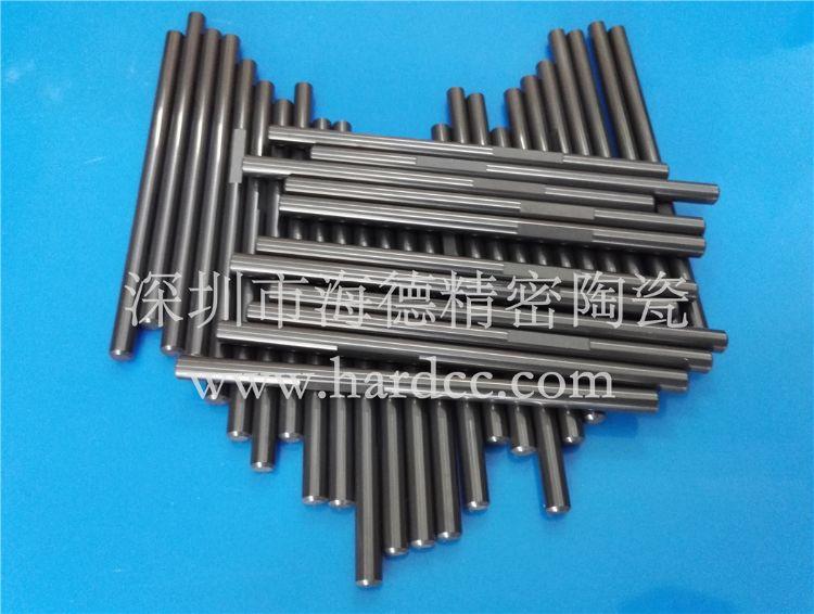 氮化硅陶瓷柱塞加工 深圳氮化硅陶瓷泵轴 石油化工用耐磨陶瓷柱塞