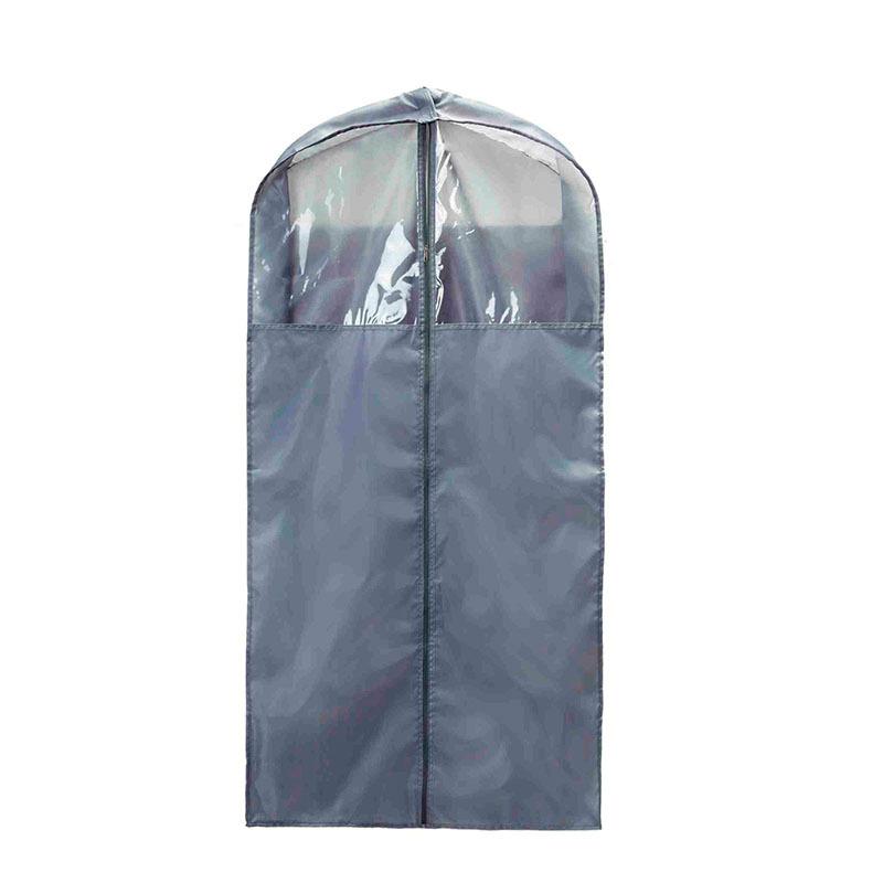 成人家居收纳套装-西装袋 日系纯色收纳袋西服防尘罩加厚半透明