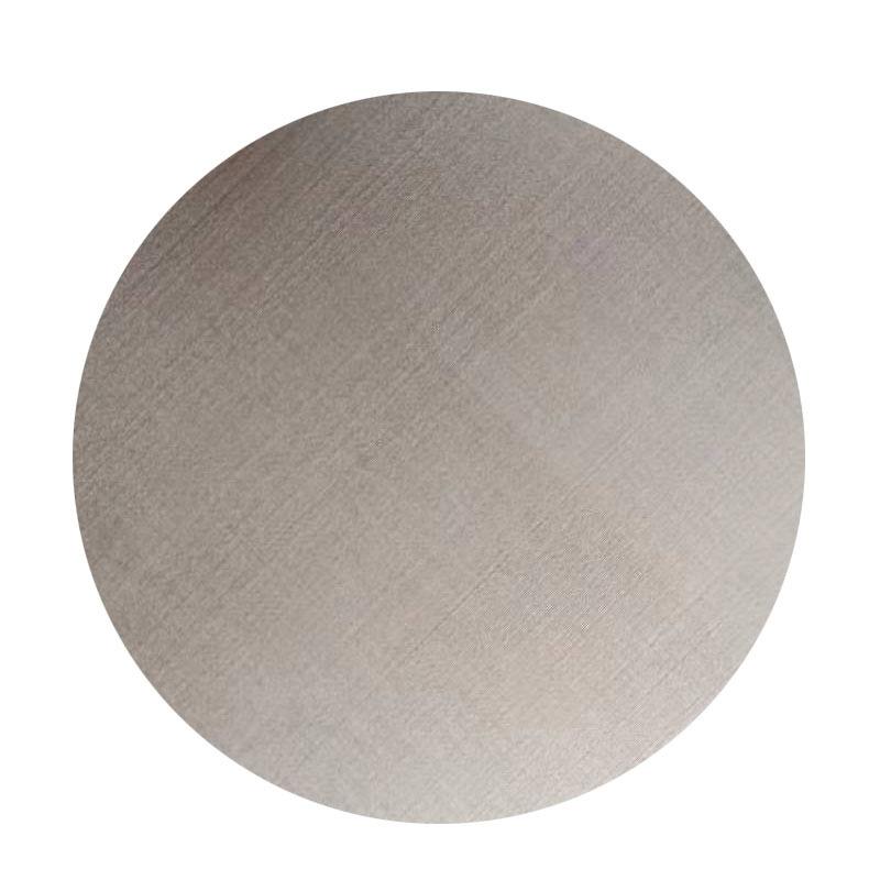 加工定制不锈钢微孔网 圆形过滤网 专工业专用精密小孔过滤网片