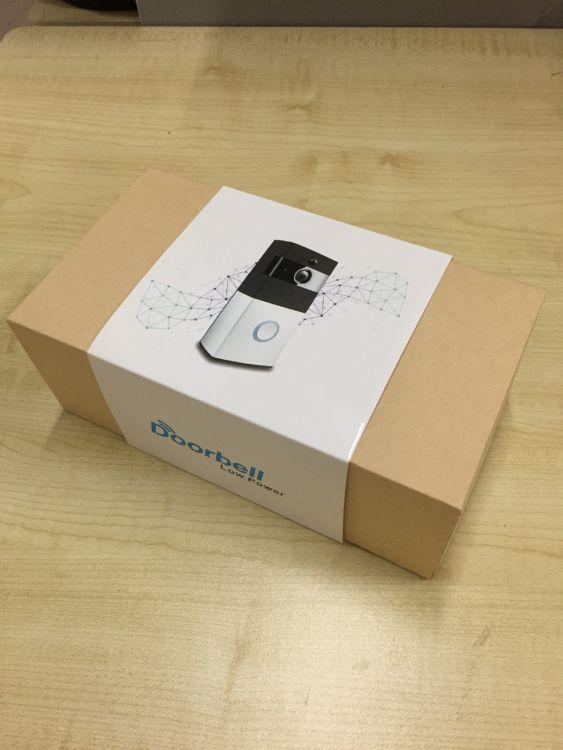 热销批发多功能wifi智能门铃手机远程无线可视对讲门铃