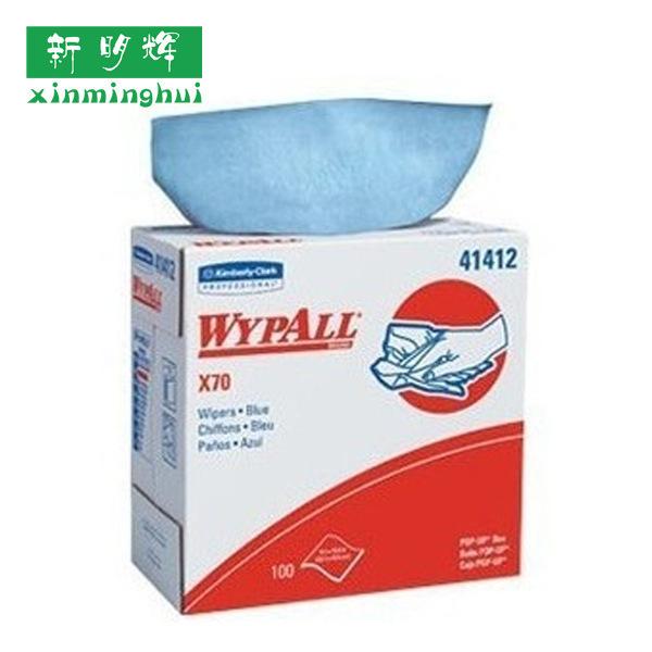 金佰利41412WYPALLX70全能型纯木浆擦拭布抽取式吸收强可重复使用