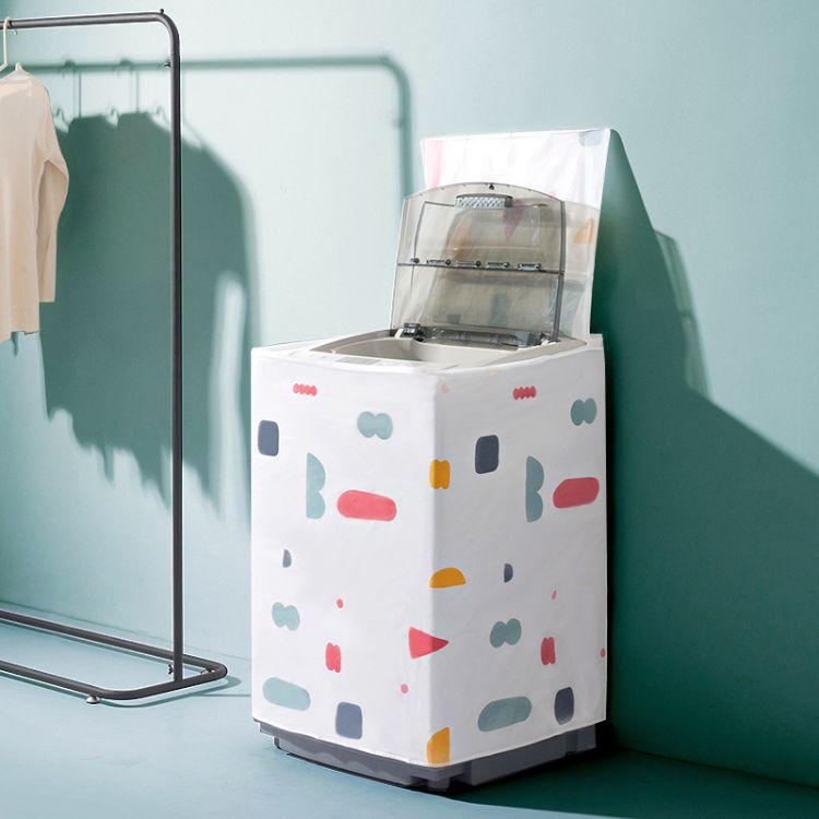 防水洗衣机套子 波轮洗衣机罩全包防尘罩布滚筒式全自动防晒 批发