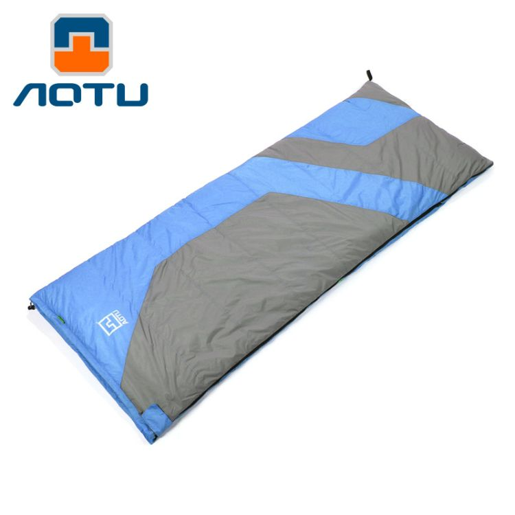 凹凸户外信封式超轻羽绒睡袋成人-25度秋冬季野营双人睡袋 AT6116
