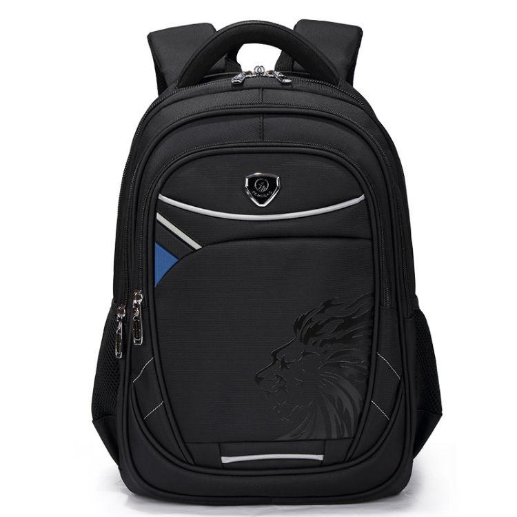 工厂直销牛津布双肩背包休闲大容量电脑包商务男包批发订制