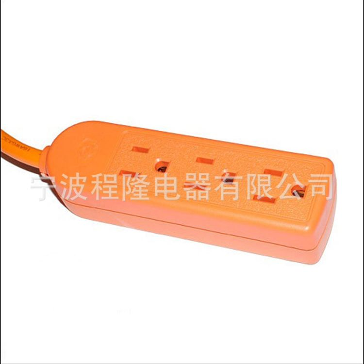 厂家批发美规排插座 北美认证系列UL接线板防雷电源插排接线插座