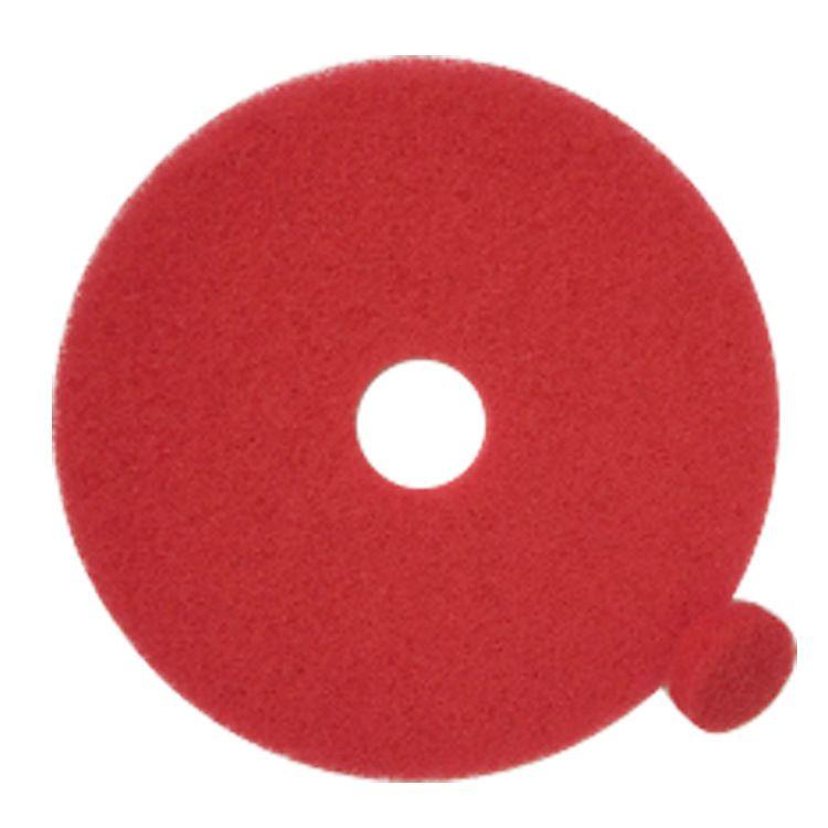 厂家直销红色百洁垫打蜡抛光地垫清洁垫洗地机晶面机专用17寸20寸