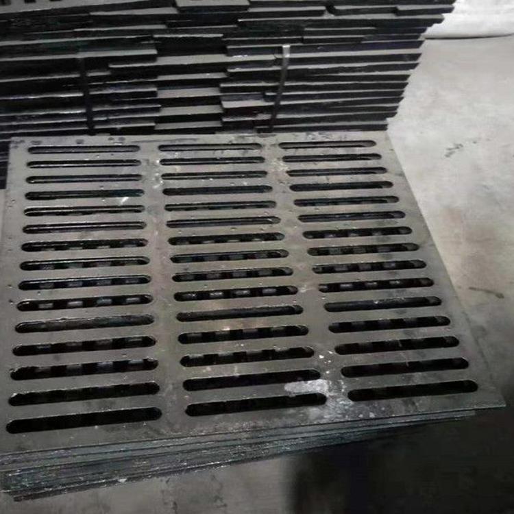 球墨铸铁套篦子 成品雨污水排水沟盖板 下水道专用球墨雨水篦子
