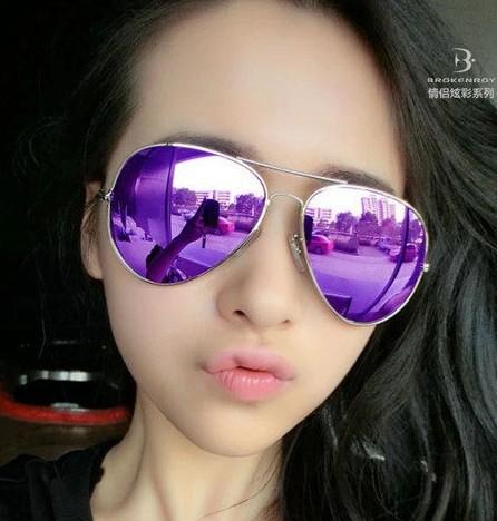 2018年太阳眼镜3025彩膜墨镜3026太阳镜女士男士钓鱼眼镜厂家批发