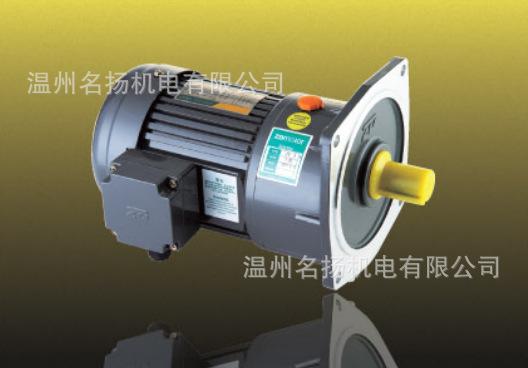 中大电机 立式小型减速马达 三相减速马达 400W