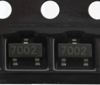 2N7002 SOT23 NXP品牌贴片三极管N沟道晶体MOS场效应管