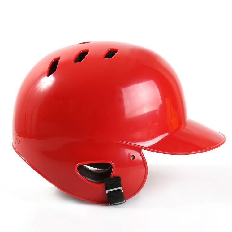 棒球头盔打击头盔双耳棒球头盔 戴面具防护罩护